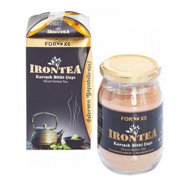 For X5 İron Tea Karışık Bitki Çayı